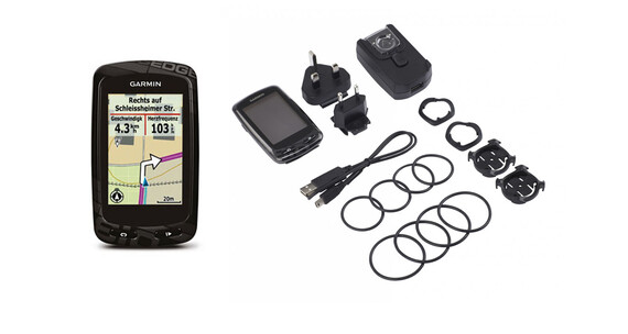 Garmin Edge 810 + TransAlpin 2012 Pro Pro Bundle microSD - GPS bicicleta - negro